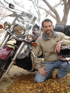 Read article on probate attorney Isaac Shutt's motorcycle hobby
